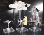 X-Wing Miniatures Ships by LadyIlona1984