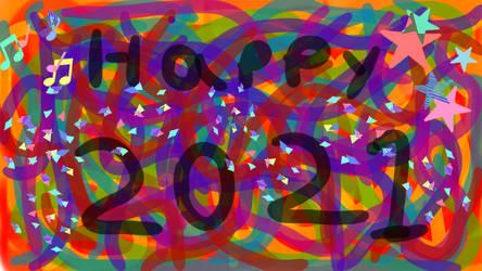 Happy 2021 by LadyIlona1984