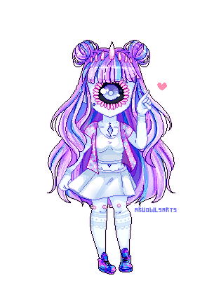 Pixelart Commission for ayama-rose by AruOwlsArts