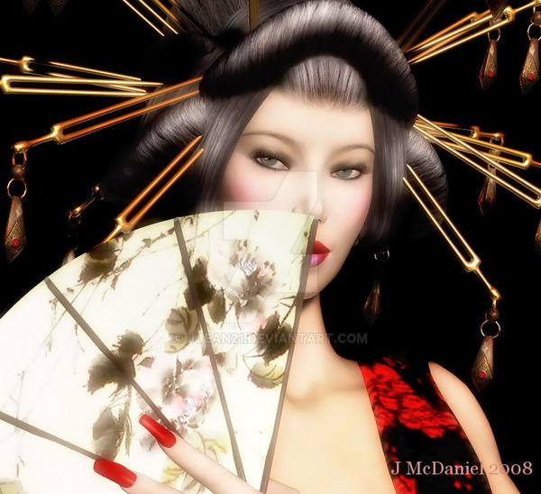 Portrait of a Geisha by jjean21