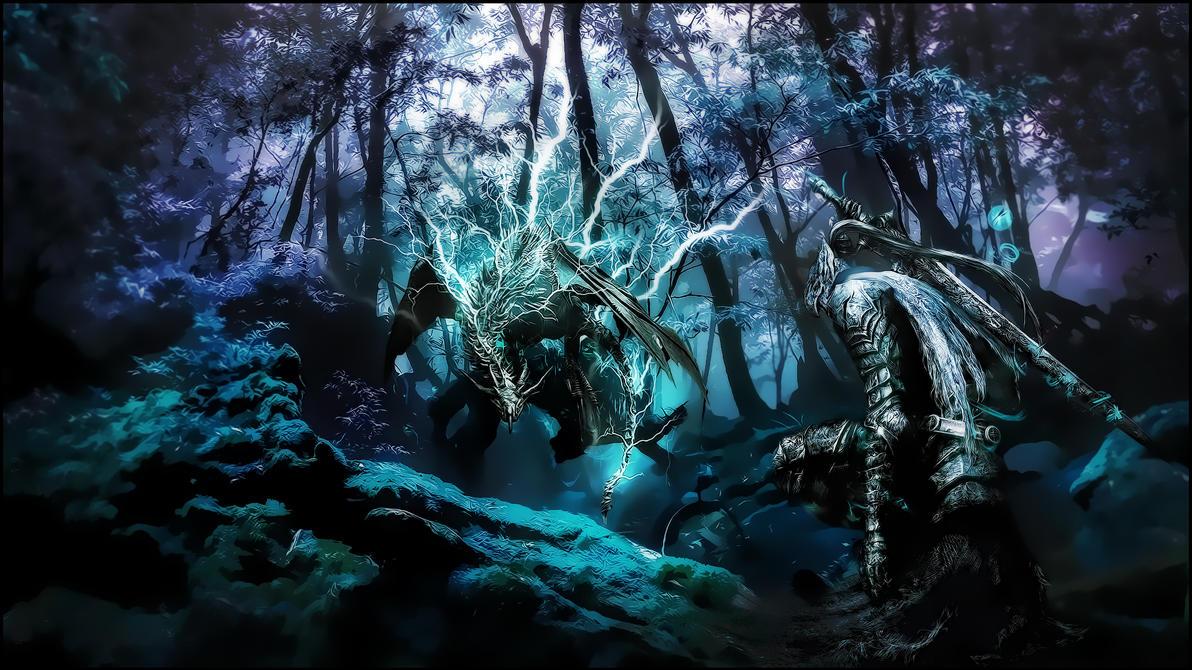 Dark Souls Wallpaper By Malafil