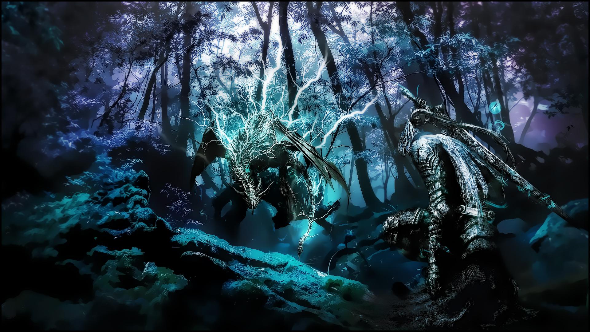 Dark Souls Background 1920x1080: Dark Souls Wallpaper By Malafil On DeviantArt