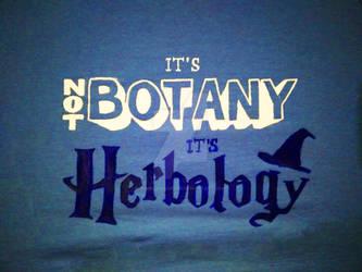 It's not Botany It's Herbology