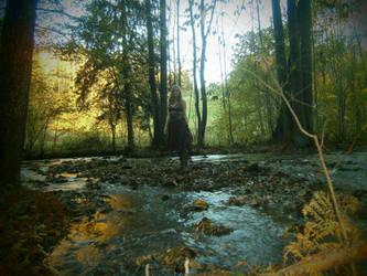 Autumnnymph by Vinterperle
