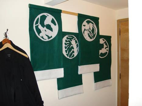 Mantis Clan Famlies' Banner