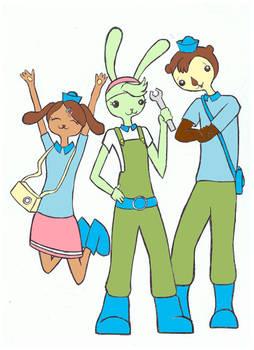 octonaut trio