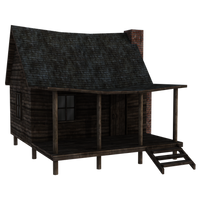 Cabin by Shadows-Stock