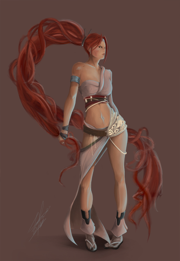 Consider, that Girl from heavenly sword naked can