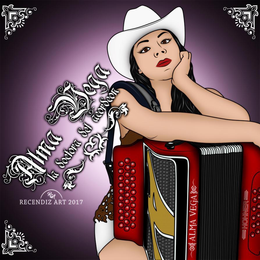Alma Vega La Dra Del Acordeon by Recendiz