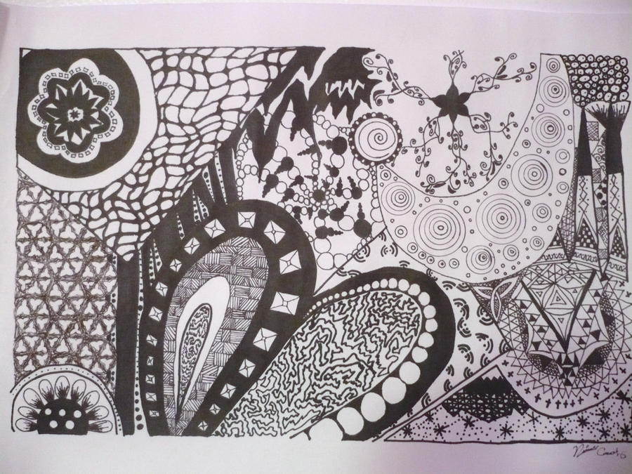 Easy Doodle Art Designs : Sharpie doodle drawing by arabella97 on deviantart