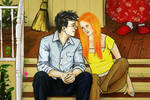 Harry and Ginny - Summer at the Burrow