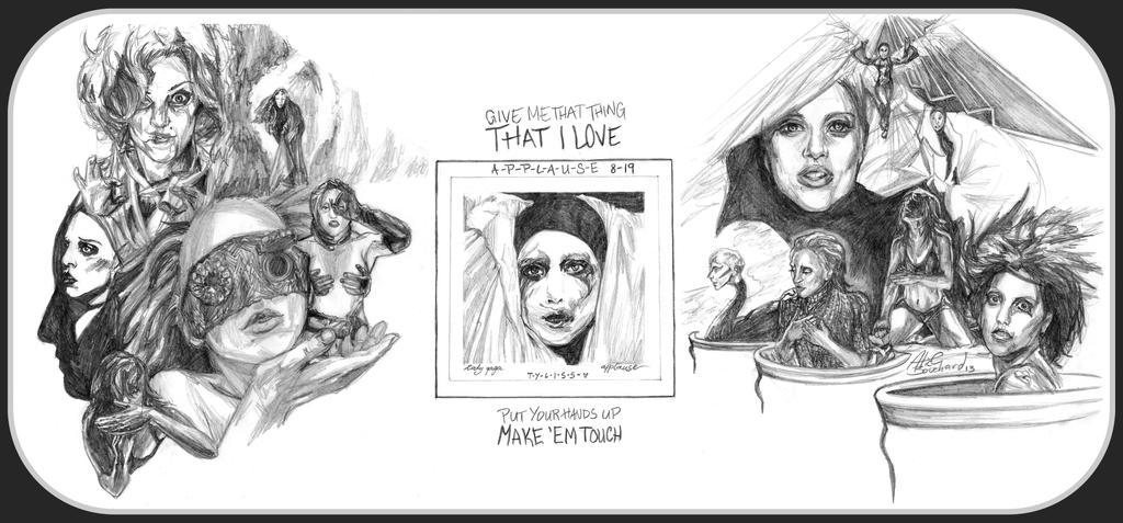 APPLAUSE - Lady Gaga - ARTPOP by Tyliss on DeviantArt