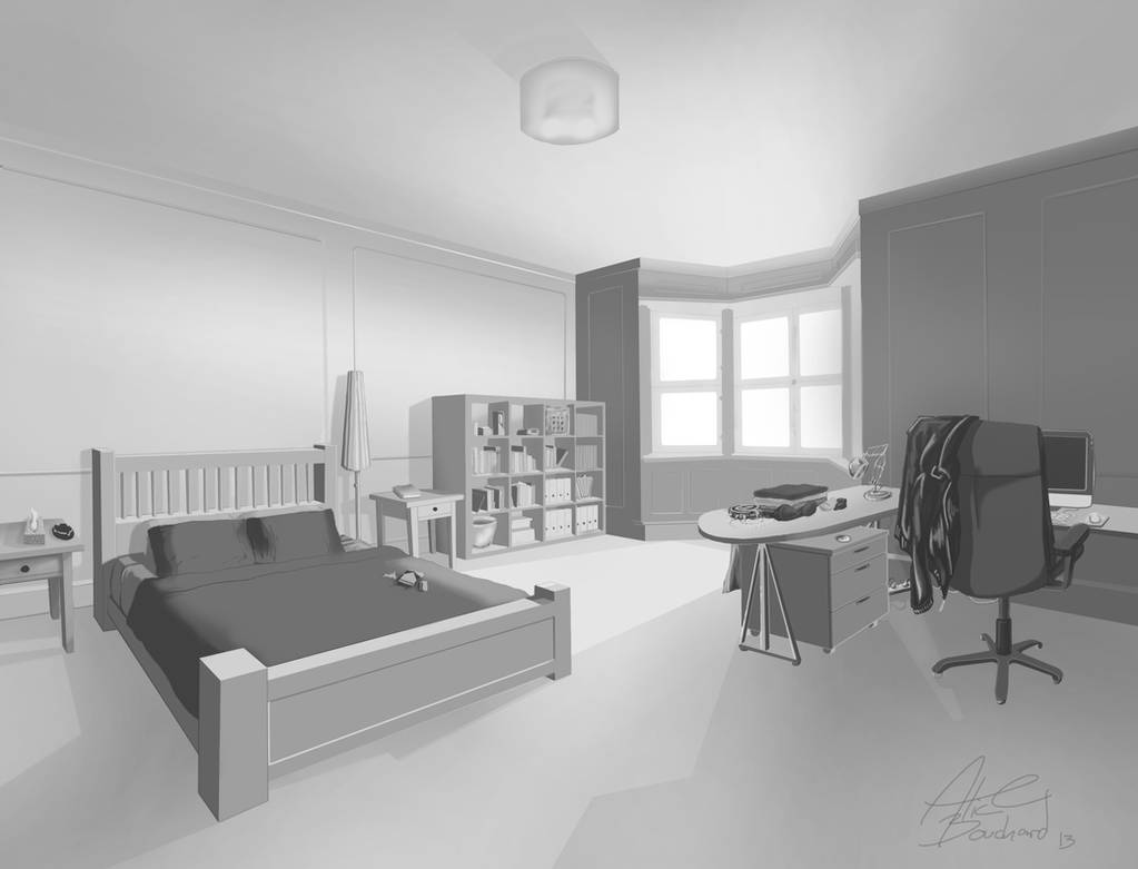 Lisbeth Salander Apartment By Tyliss