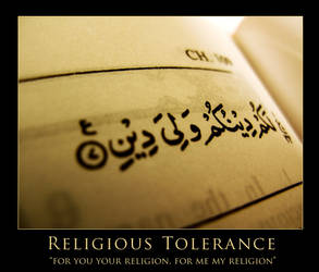 Religious Tolerance by vivacious