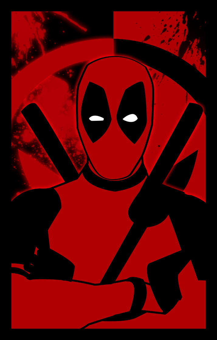 DEADPOOL by bat123spider