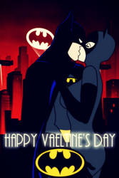 BTAS: HAPPY VALENTINE'S DAY BRUCE X SELINA by bat123spider