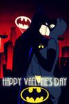 BTAS: HAPPY VALENTINE'S DAY BRUCE X SELINA by bat123spider