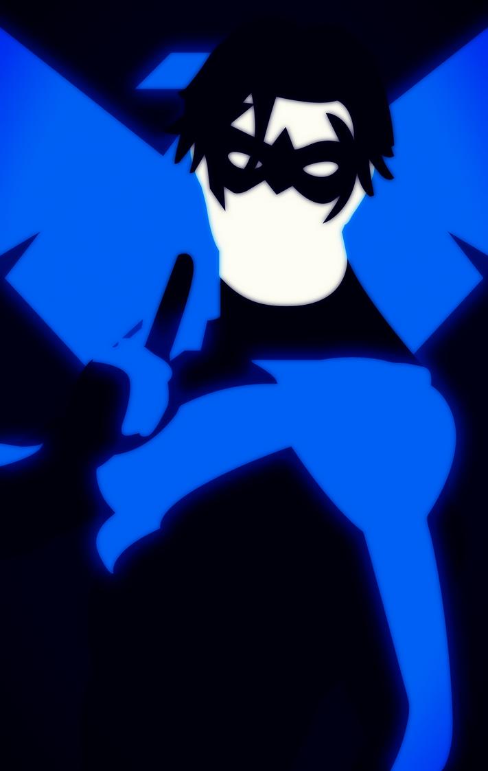 Nightwing Edit 2 by bat123spider