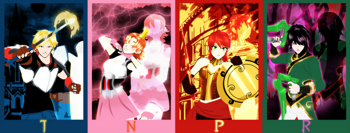 TEAM JNPR by bat123spider