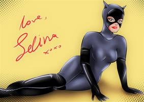 Catwoman BTAS: A love card to Batman by bat123spider