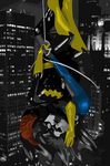 Barbara and Dick by bat123spider
