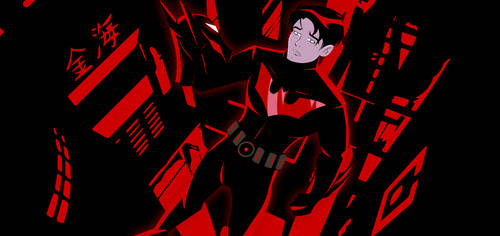 Batman Beyond  : I'm not original anymore.. by bat123spider