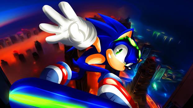 Sonic Riders : Un-Gravitify