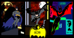BATMAN 80th anniversary animated tribute by bat123spider