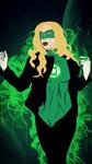 Green Canary Lantern by bat123spider