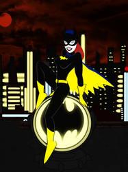 Batgirl by bat123spider