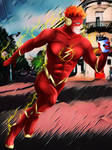 The Flash Wallace Rudolph West by bat123spider