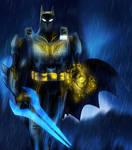 Halo Batman by bat123spider