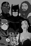 Zack Snyder's Justice League The Animated Movie by bat123spider
