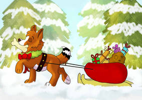 Christmas Spirit Ych Canine OPEN