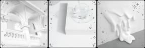 f2u white aesthetic divider