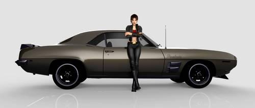 Lara's Pontiac Firebird 1969 by puczkosia