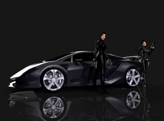 Lamborghini Sesto Elemento by puczkosia