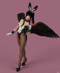 Nyo Tengu Bunny by puczkosia