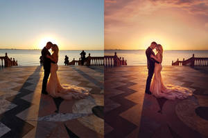 Wedding photo retouch by Ivaran