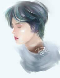 Sleeping Beauty - JaeJoong by padwane
