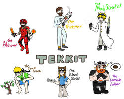 Tekkit with The Yogscast by Stookam