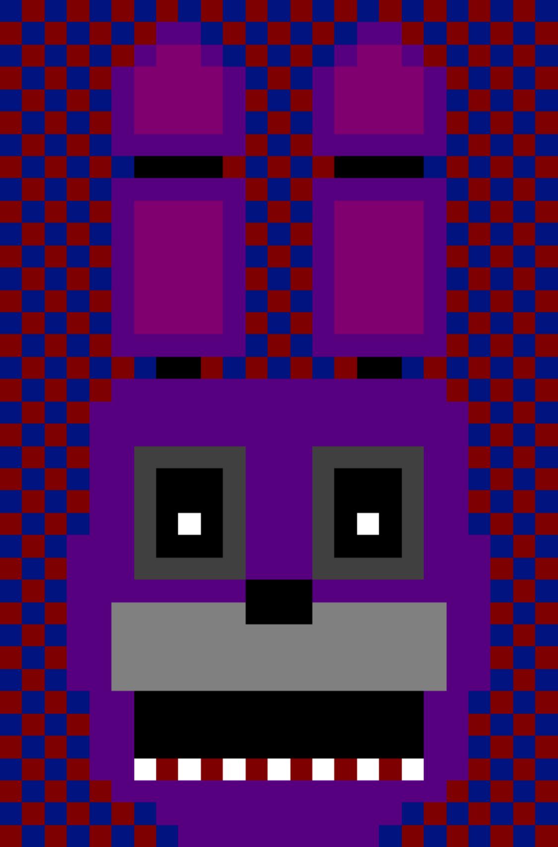 Bonnie Pixel Art Grid Related Keywords Suggestions