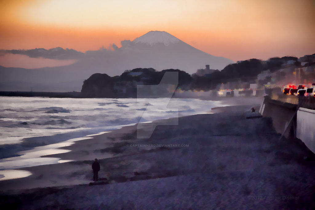 Fujisan by the bay by CaptainNerd