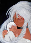 Mama Hild and baby Urd by CaptainNerd