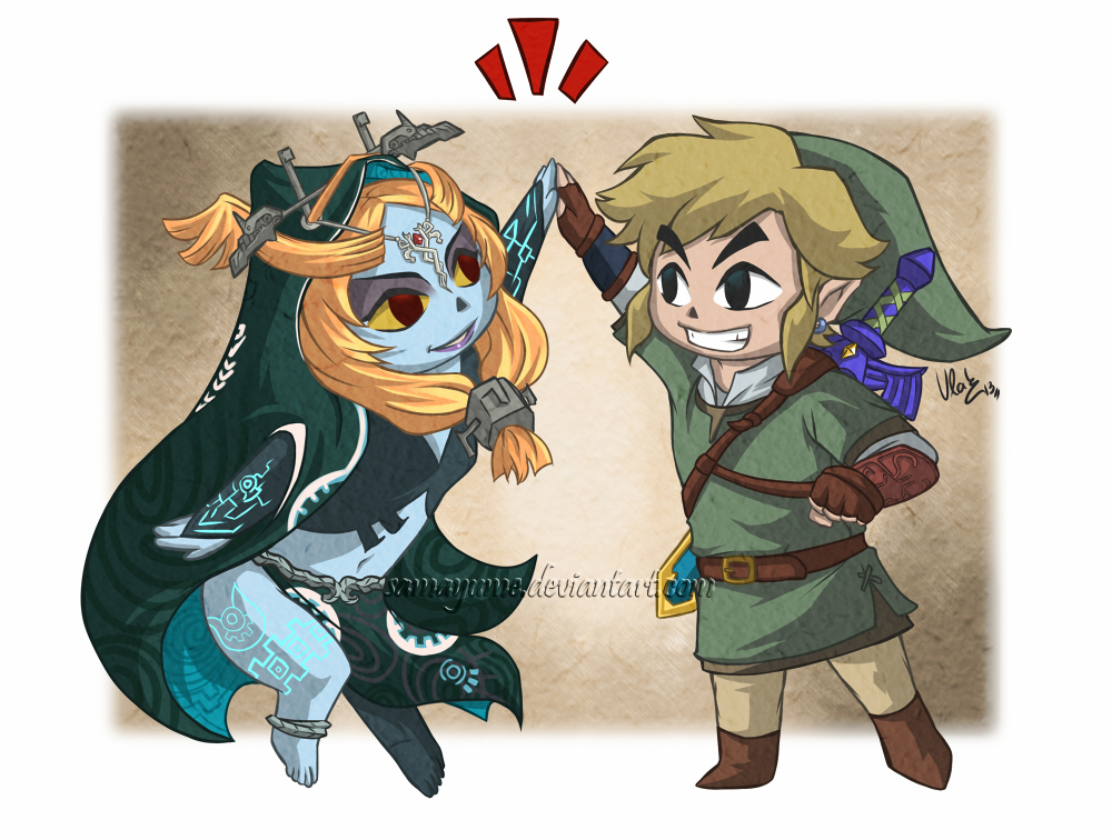 Twilight Princess Toon by Samayume