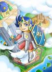 Wonder Boy in Monster World by Samayume