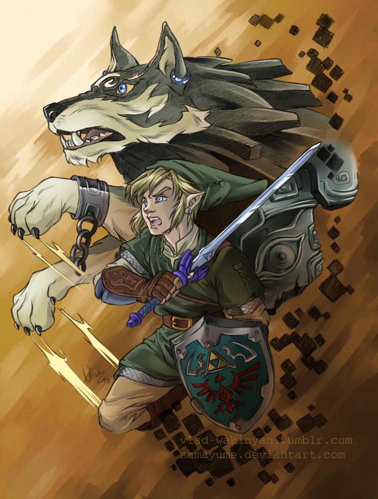 The Legend Of Zelda Twilight Princess Fanart By Samayume