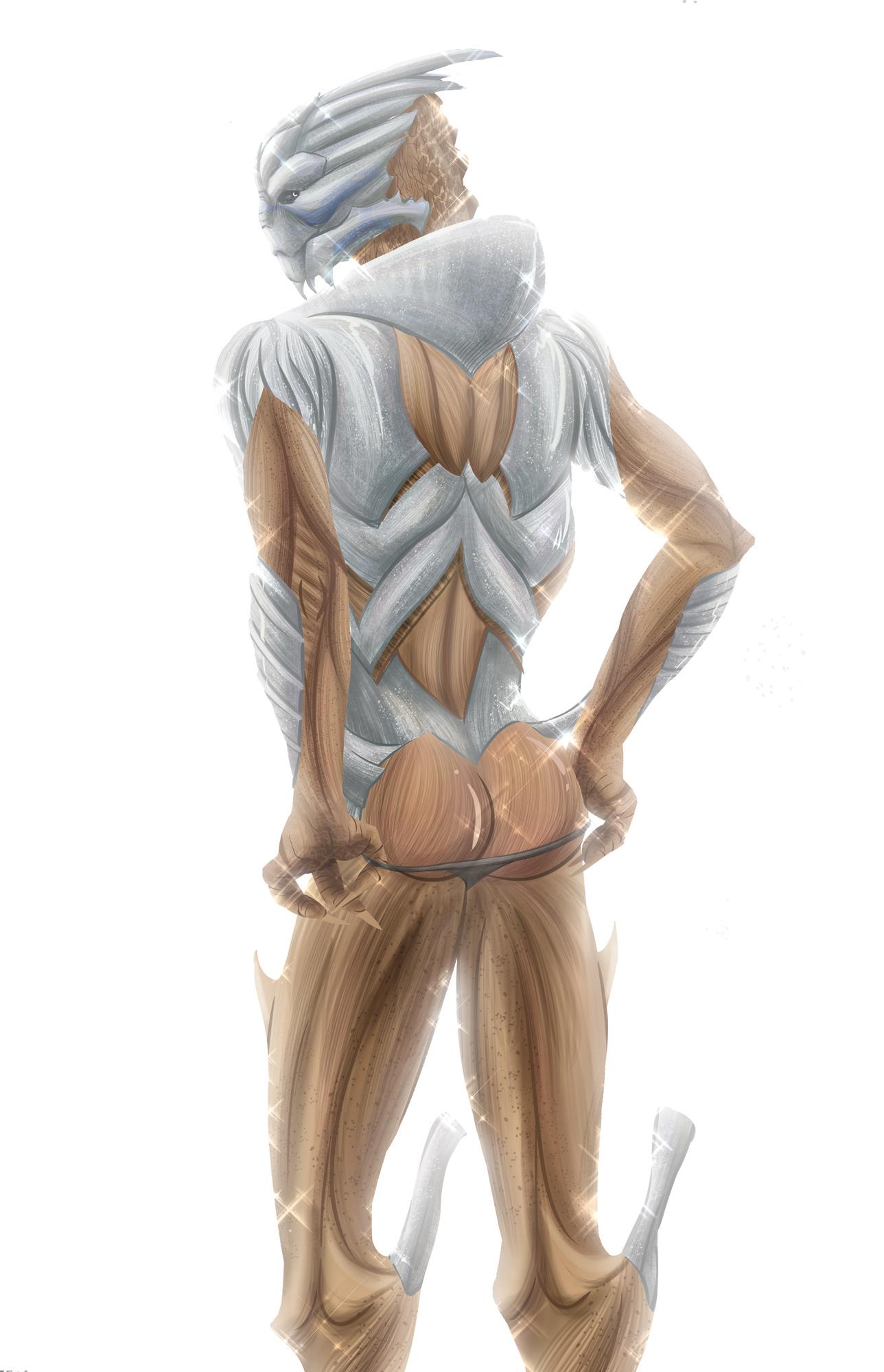 Garrus, Let Me See That Thong! by jijikero