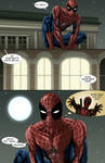 Spideypool Comic 'Never Say Never' Page 1