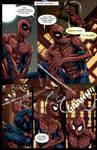 Spideypool Comic 'Never Say Never' Page 2 by jijikero